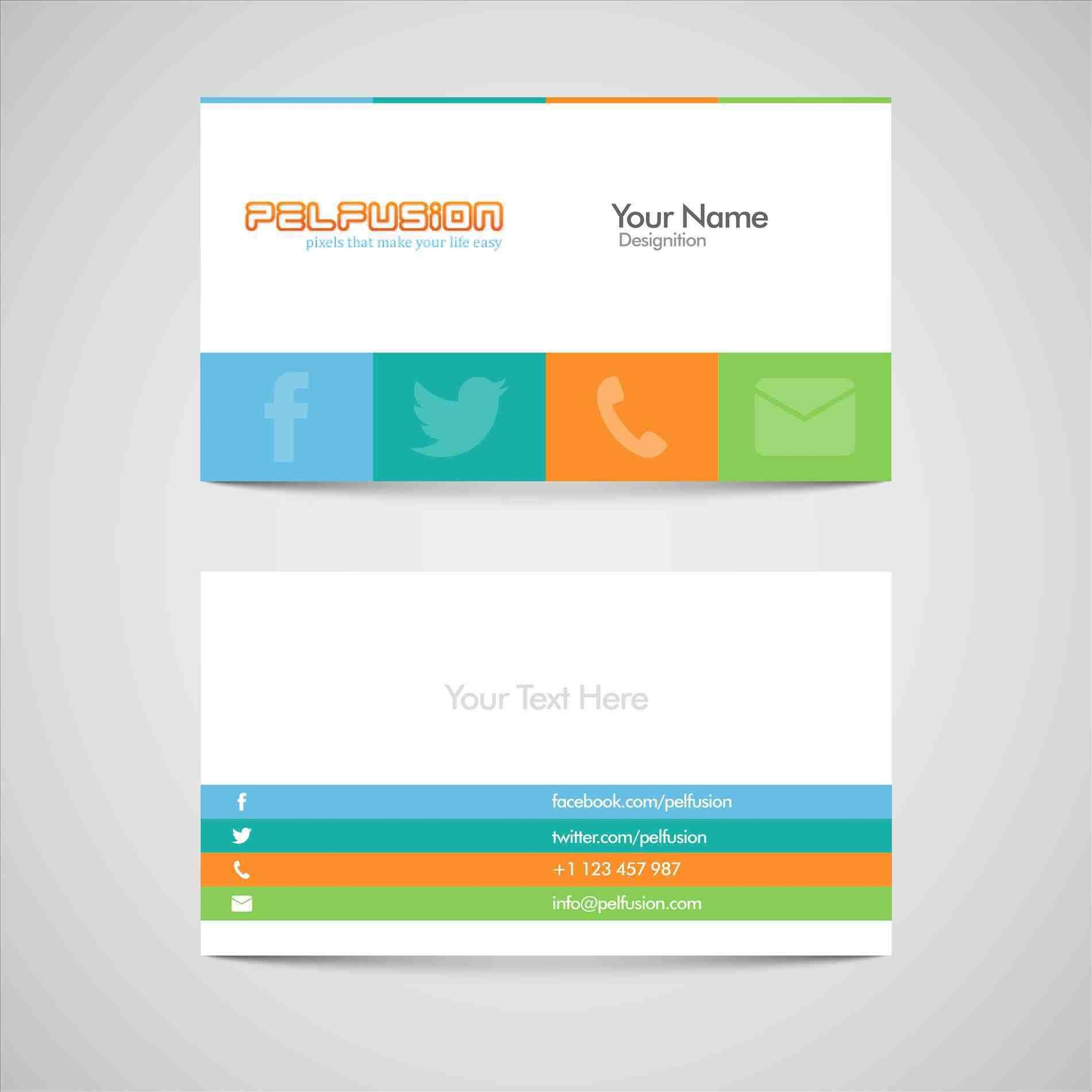 Free Buisness Card Templates (With Images)