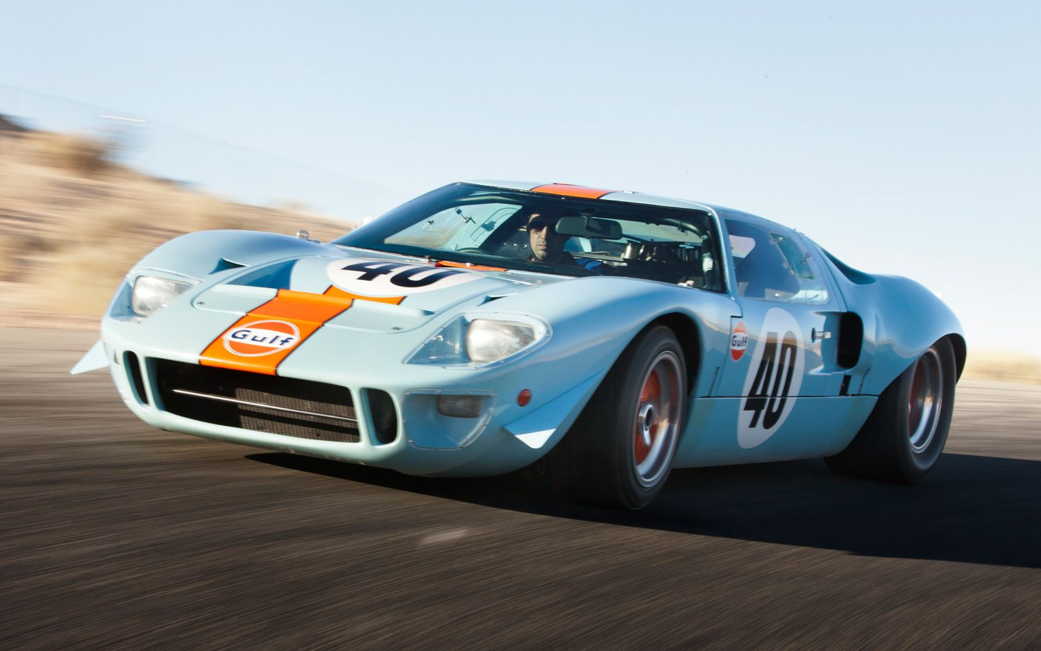 1968 Ford Gt40 Gulf Mirage Front Three Quarter Photo 6 Ford Gt