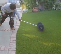 How To Install Artificial Grass Artificial Grass Installation Artificial Turf Backyard Artificial Grass