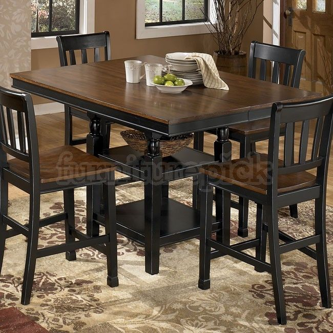 Exceptional Owingsville Square Counter Height Table