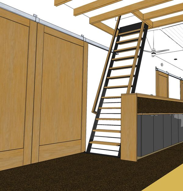 Best Loft Ladder Design Loft Ladder Design 400 x 300