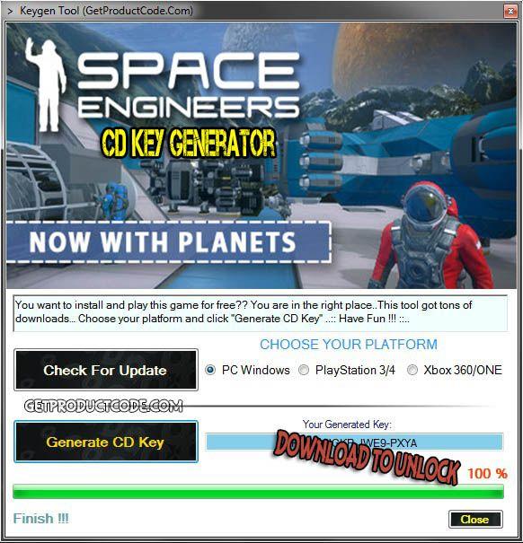 Space engineers free steam key giveaways