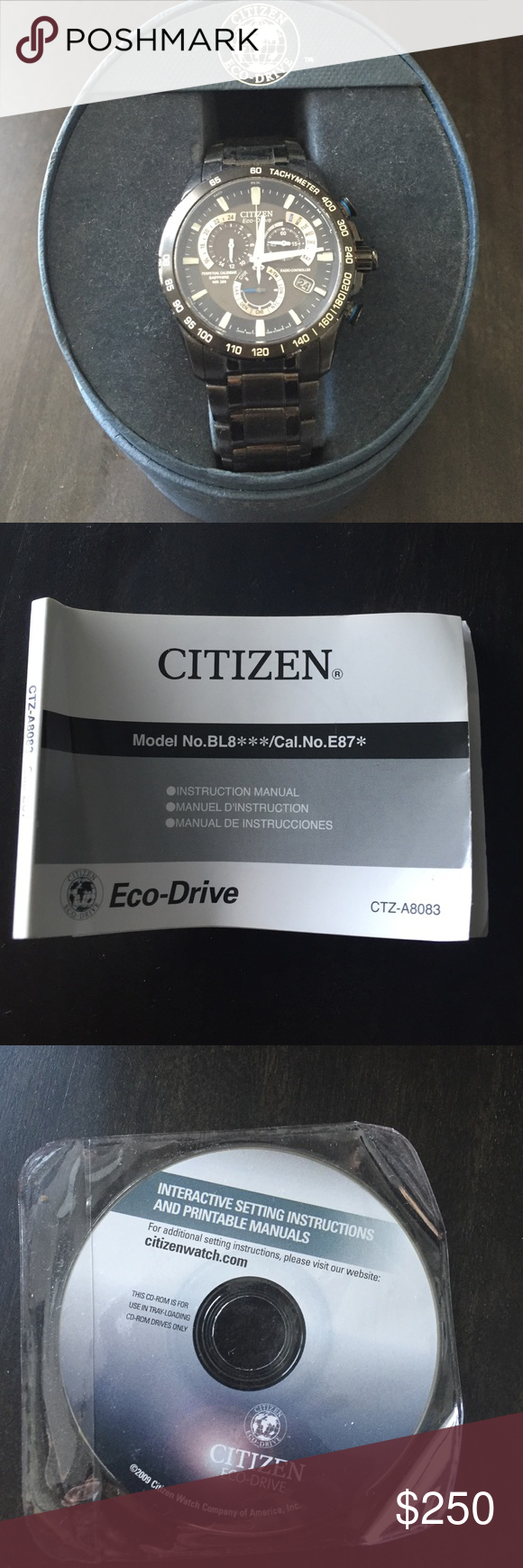 citizen eco drive watch my posh closet pinterest citizen eco rh pinterest com Citizen Dive Watch Citizen Eco-Drive Watches Manual