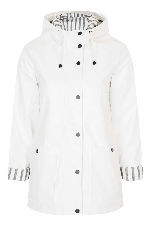 ddfd182ad White Rain Mac - Topshop Topshop Tall, Topshop Coats, Rain Mac, Rain Jacket