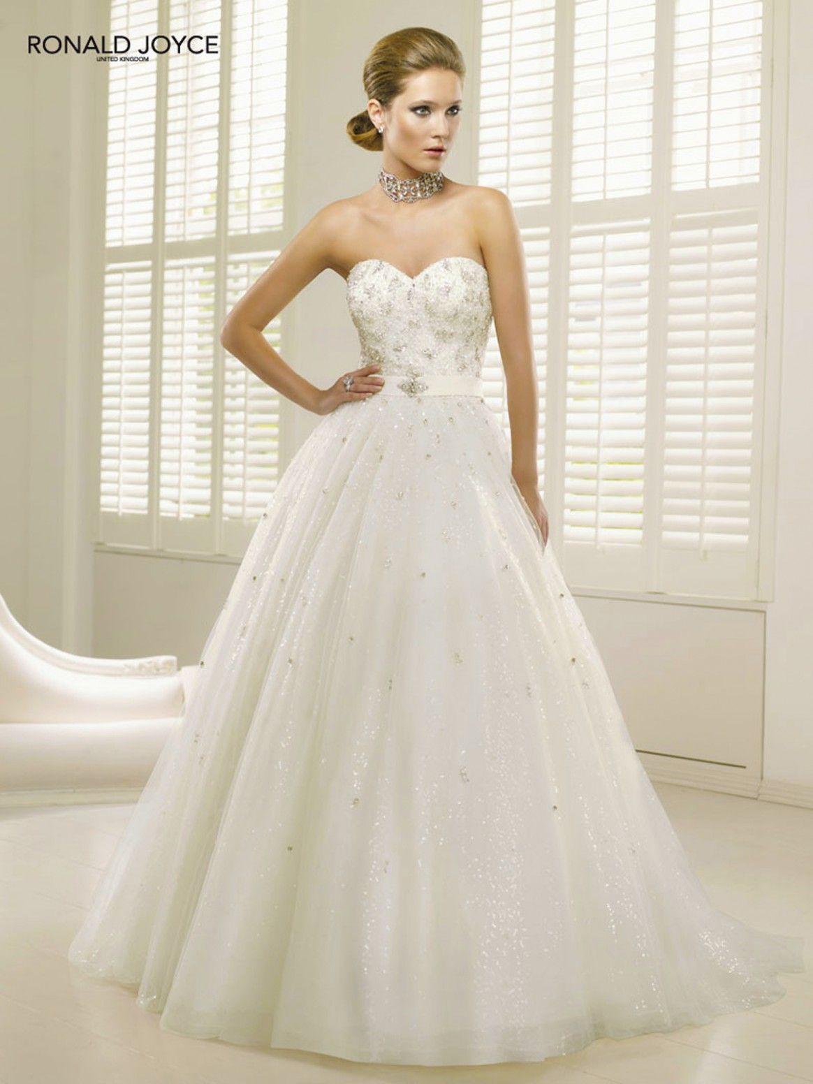 Ronald Joyce Princess Wedding Dress Bruiloft Baljurken Trouwjurk Baljurk Trouwjurk [ 1552 x 1164 Pixel ]