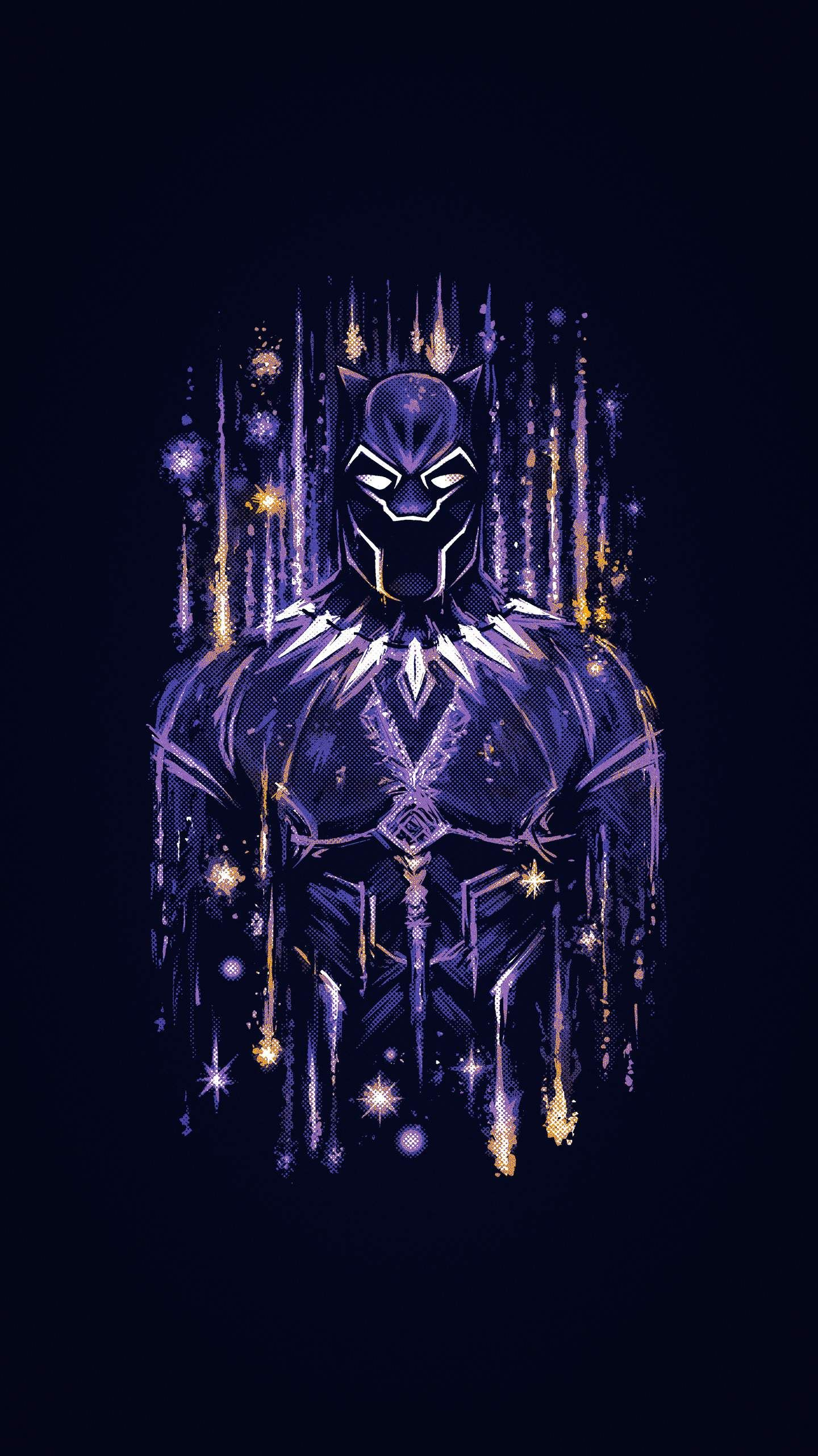 Iphone Wallpapers For Iphone 8 Iphone 8 Plus Iphone 6s Iphone 6s Plus Iphone X And Ipod Touch High Quality Marvel Wallpaper Black Panther Art Black Panther