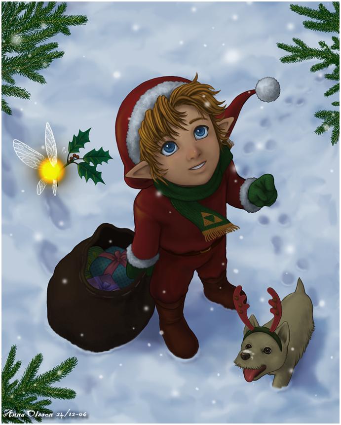 Merry Christmas- by Annausagi | Chilly Christmas ...