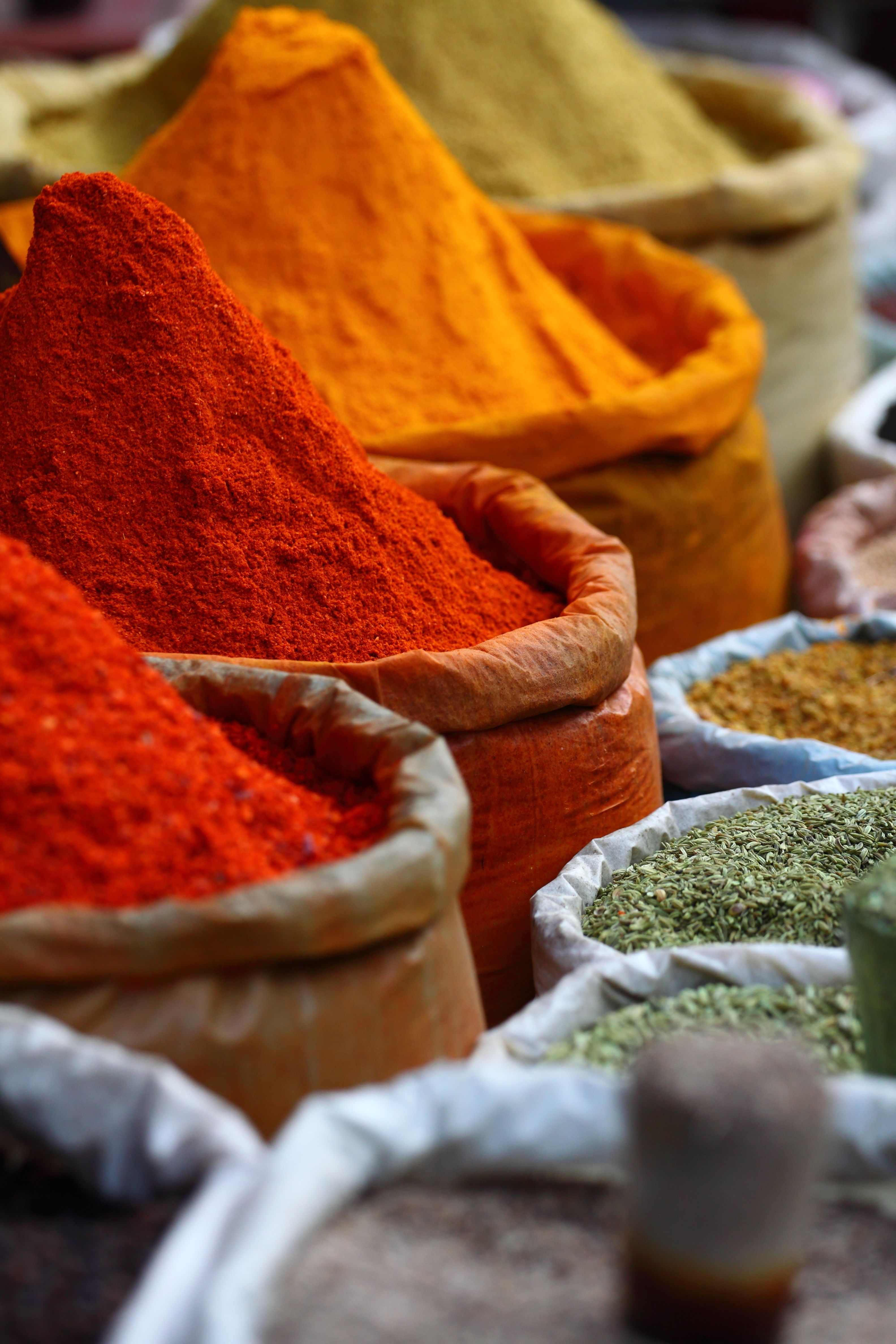 Experience A Moroccan Spice Market And The Height Of The