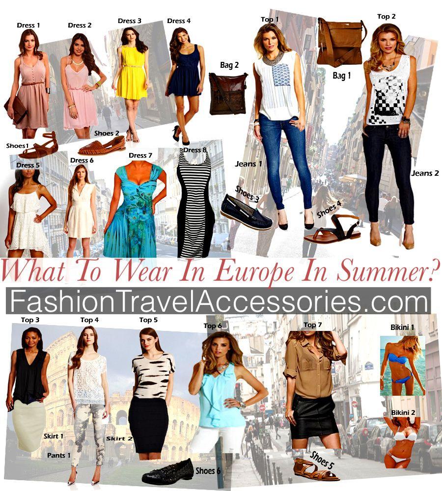 Summer travel dresses