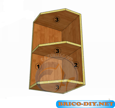 Bricolaje diy planos gratis como hacer muebles de melamina for Planos muebles madera