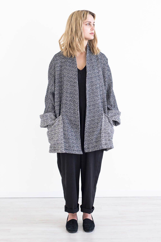 Yoko Jacket in Wool Tweed