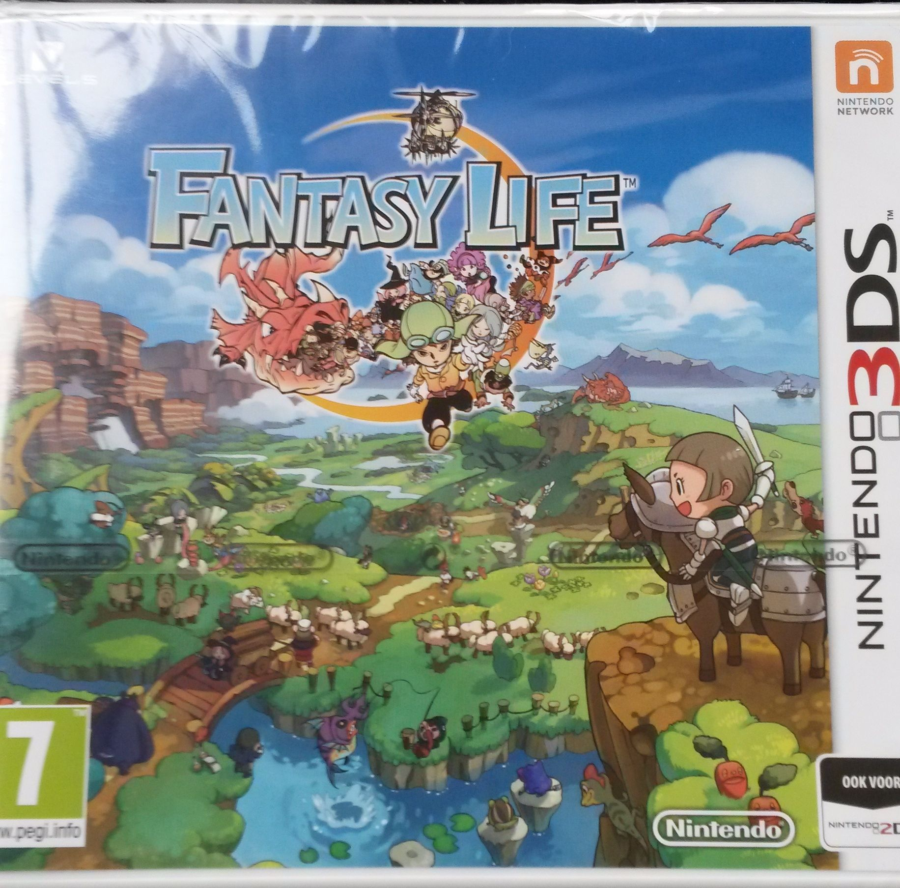 Nieuw spel Fantasy life. Fantasy life, Nintendo 3ds