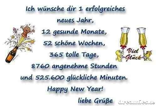 Pin by Christel Schäfer on Neu Jahr | Pinterest | Happy new year ...