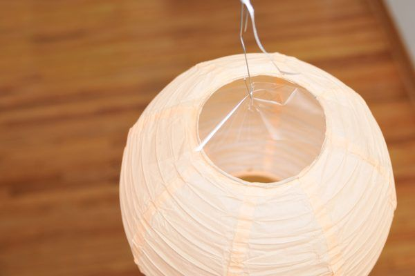 How To Hang Paper Lanterns From The Ceiling In 2019