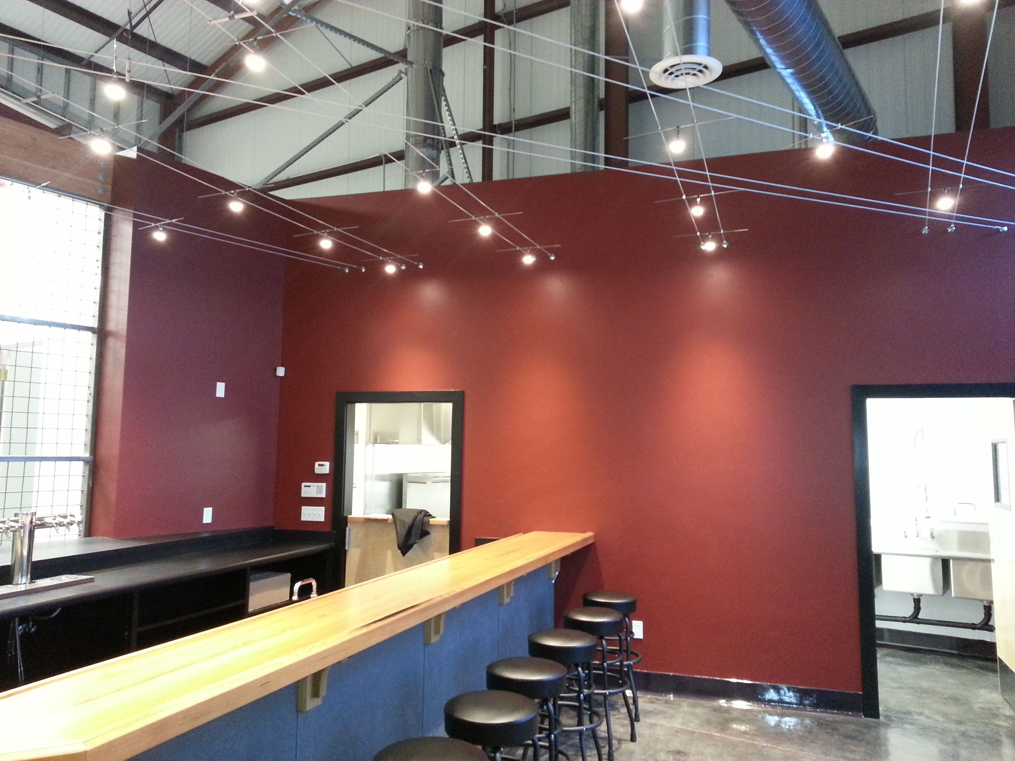 Discretion Tap Room Bar Stools Are Finally In And Led Lighting Has Been Installed Tap Room Bar Stools Home Decor