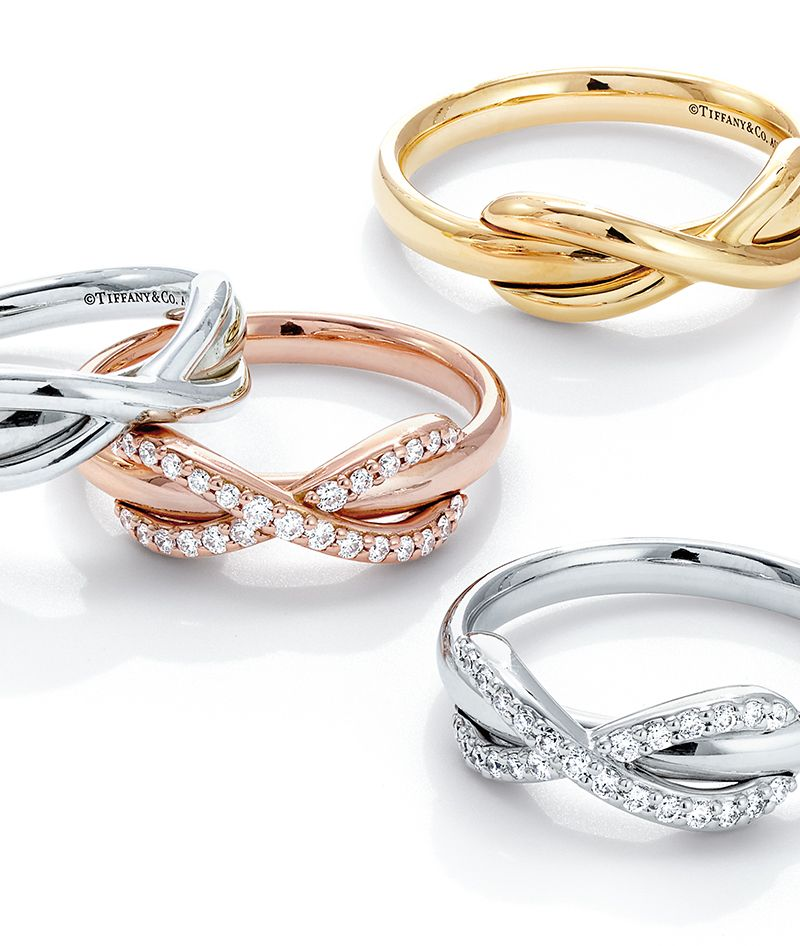 d30c819fd Ring in a new year of limitless possibilities with designs from the Tiffany  Infinity collection.
