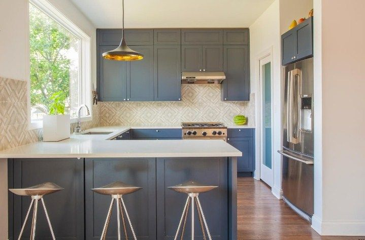 Galley Kitchen Designs With Breakfast Bar Yet Home