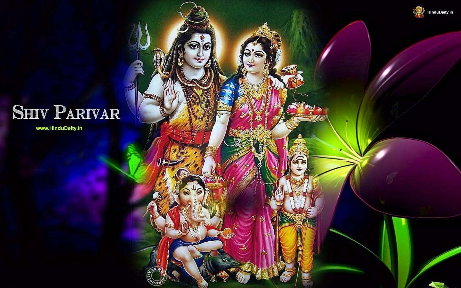 Free Download Shiv Parivar Wallpaper Images Photos Shiv