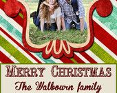 20 - 5x7 Personlized Holiday Cards