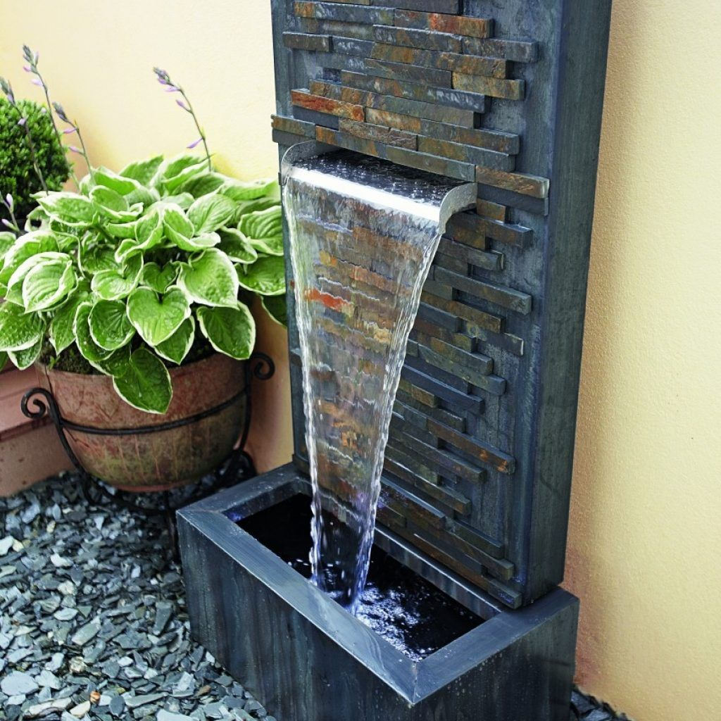 Balcony water feature ideas for Balcony features