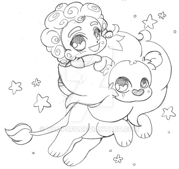 Steven and Lion ::Steven Universe:: by YamPuff on ...