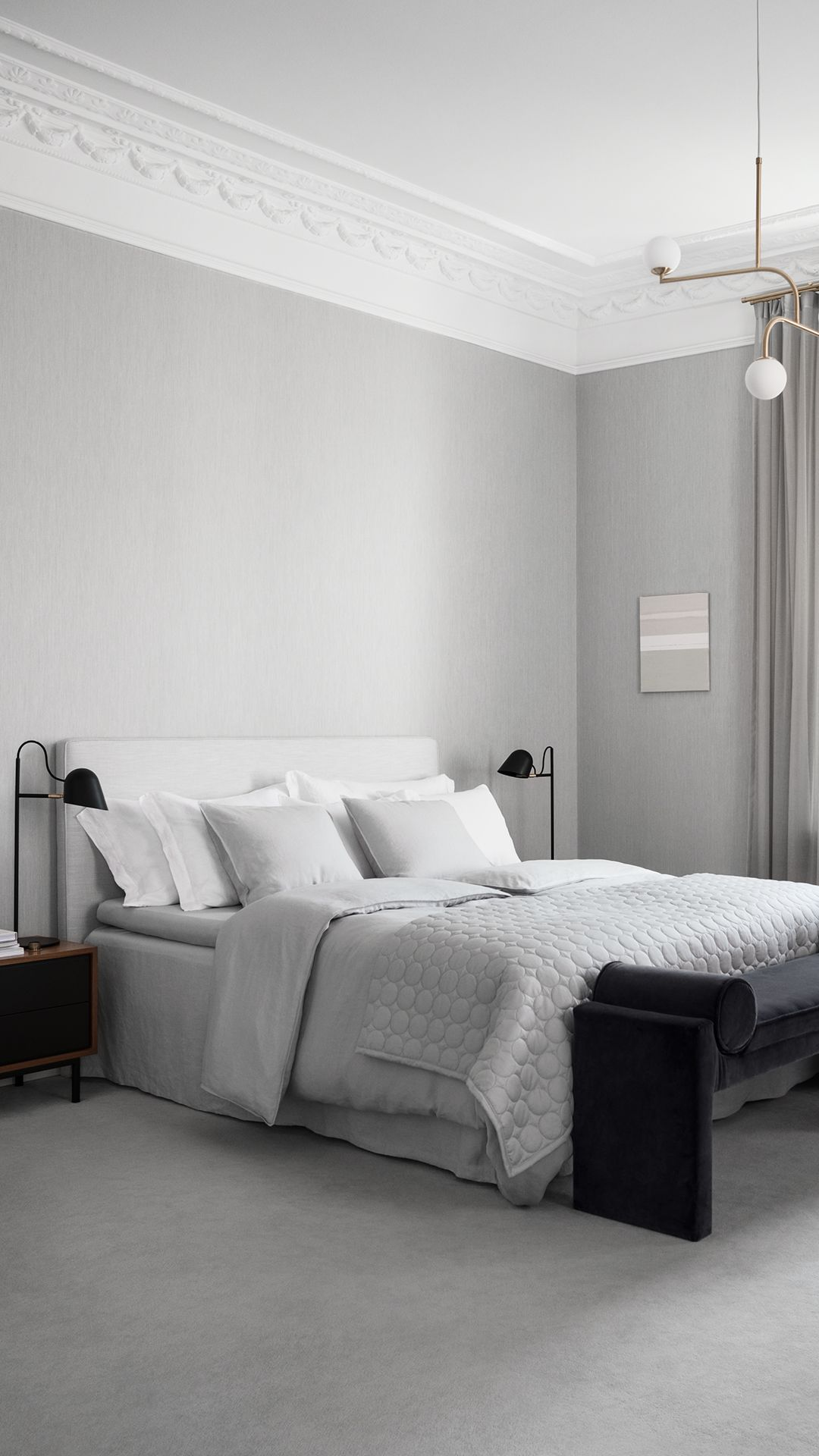 Create A Luxury Hotel Style With Our New Home Collection In Sober Colours  And High