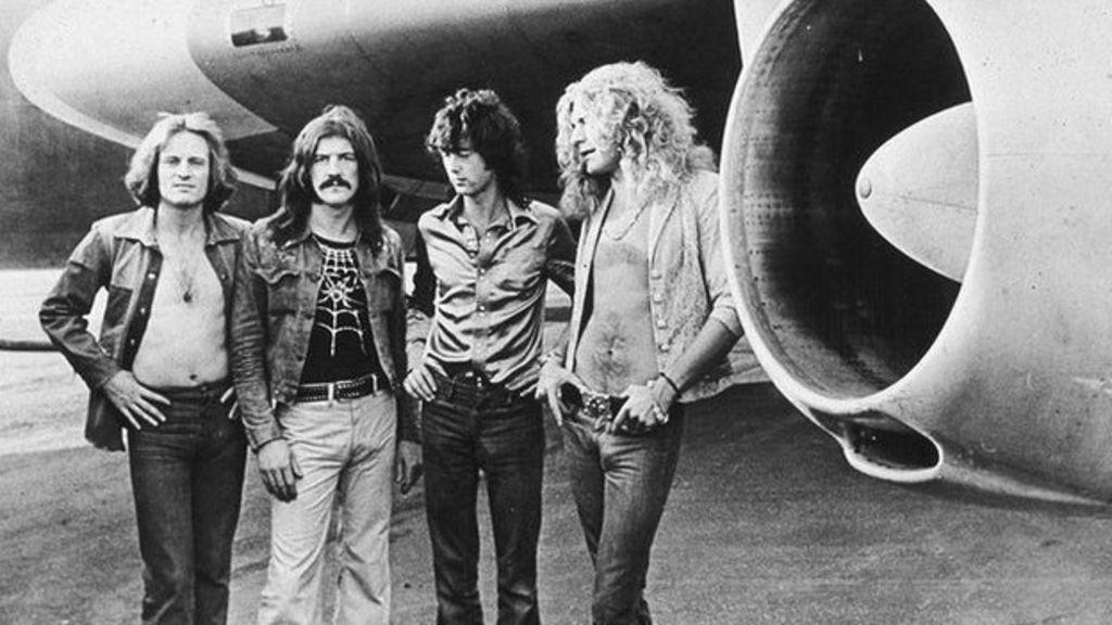 Sidharth Bhatia recalls the legendary rock band Led Zeppelin's visit to India's entertainment capital in 1972.