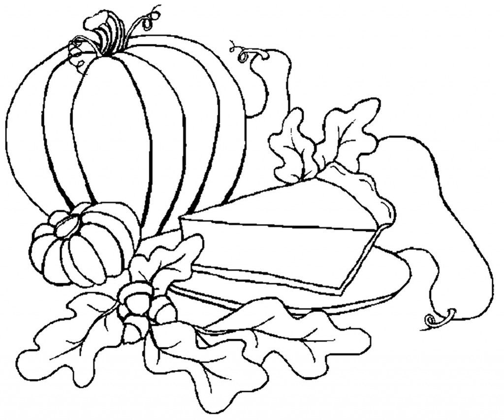 49++ Printable thanksgiving food coloring pages info