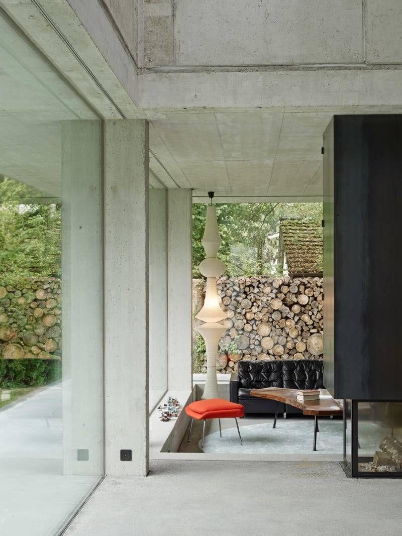 Home design exterieur und interieur madabout interior design u a family house near lake biel
