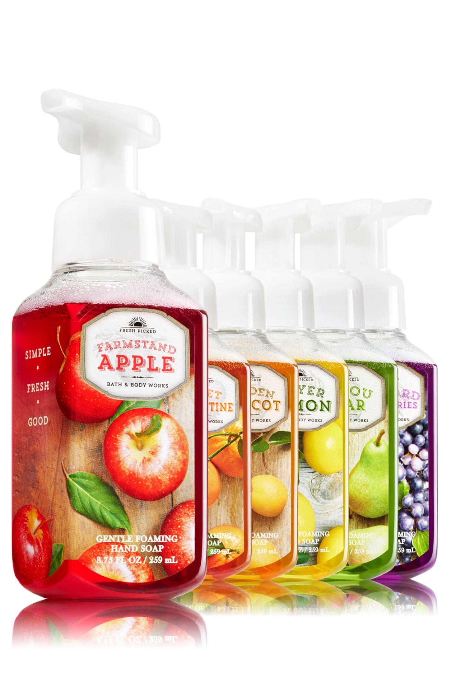 Fall Fresh Picked Gentle Foaming Hand Soap Bundle Soap Sanitizer