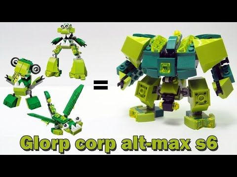 Instruction Mixels 6 Glorp Corp Max Alternative Lego 415484950