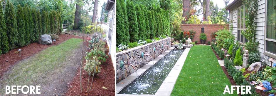 Garden Ideas Before And After are you ready to have a fabulous yard without spending too much
