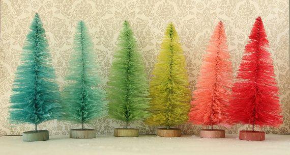 Stupendous 1000 Images About Bottle Brush Amp Sisal Trees On Pinterest Easy Diy Christmas Decorations Tissureus