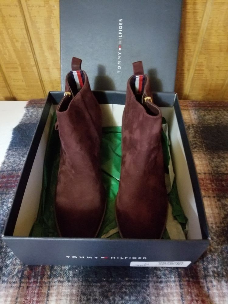 92acd5389c62 Tommy Hilfiger Reiz Ankle Booties 921 Dark Red 6.5 US  fashion  clothing   shoes  accessories  womensshoes  boots (ebay link)