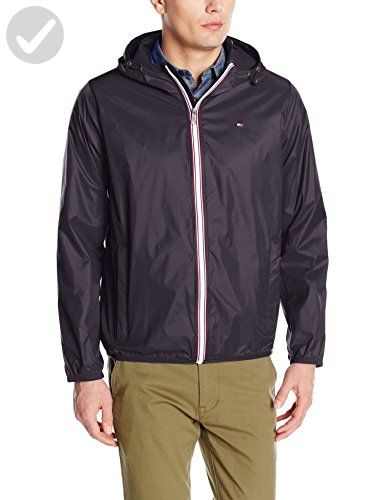 where can i buy cheap prices best price Tommy Hilfiger Men's Lightweight Hooded Packable Windbreaker ...