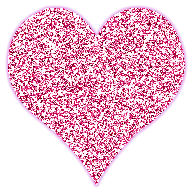 Блестящие картинки цветов сердечек