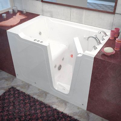 Therapeutic Tubs Crescendo 59 7 X 35 8 Whirlpool Jetted Bathtub