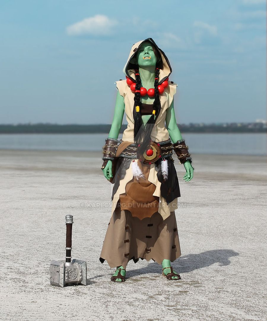 world-of-warcraft-cosplay-orc | super | Pinterest | Cosplay, Anime ...