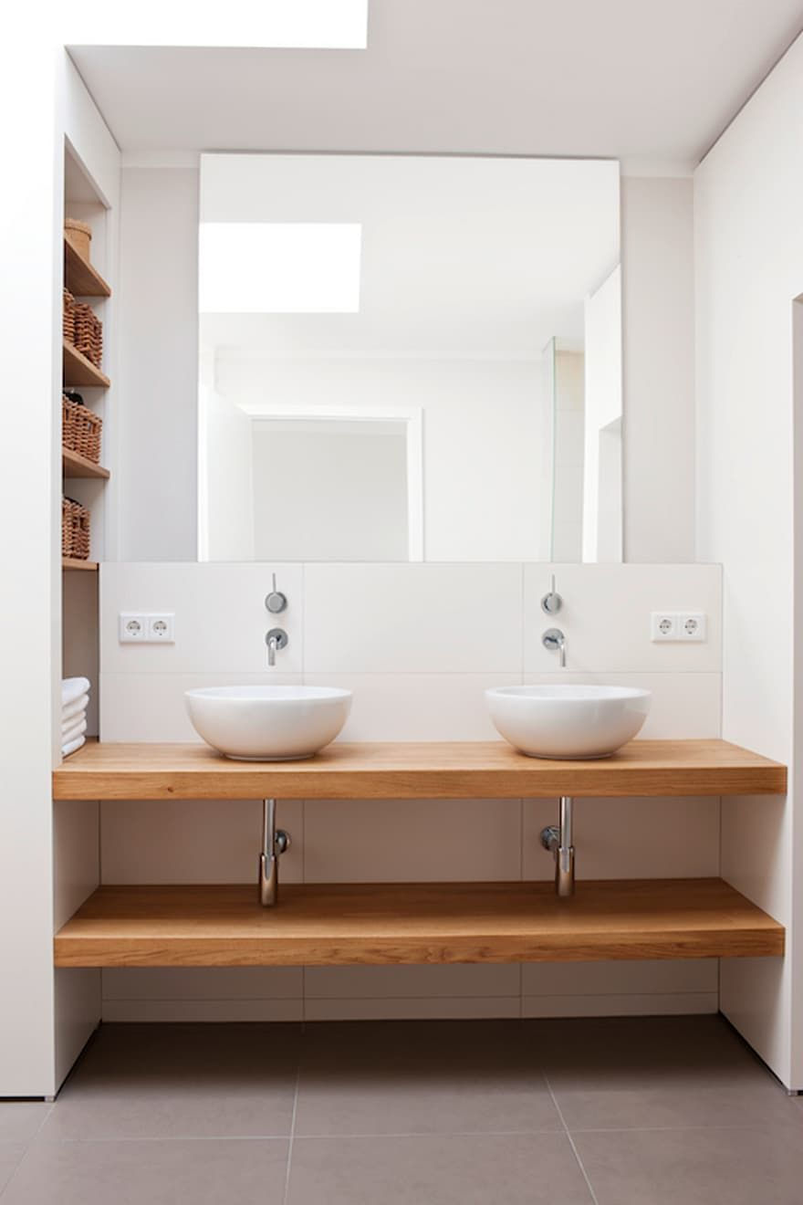Badezimmer Ideen Design Und Bilder Badezimmer Unterschrank Badezimmer Doppelwaschbecken Badezimmer
