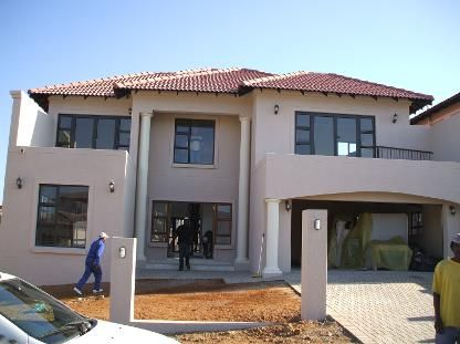 Blue designs architectural designers modern tuscan home for Modern tuscan house plans south africa