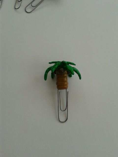 Fimo paperclip.