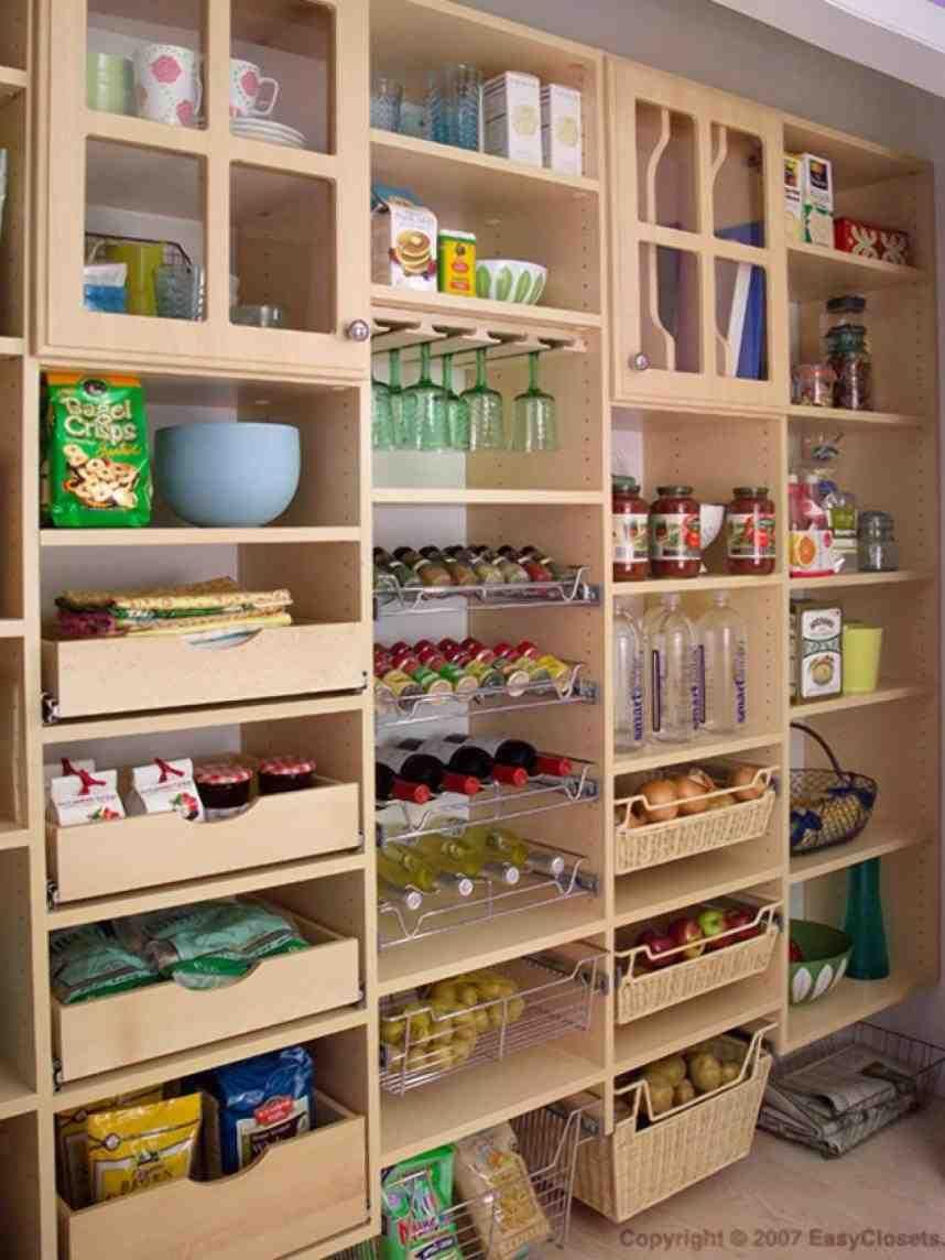 Kitchen Pantry Shelving Systems Pantry Layout Kitchen