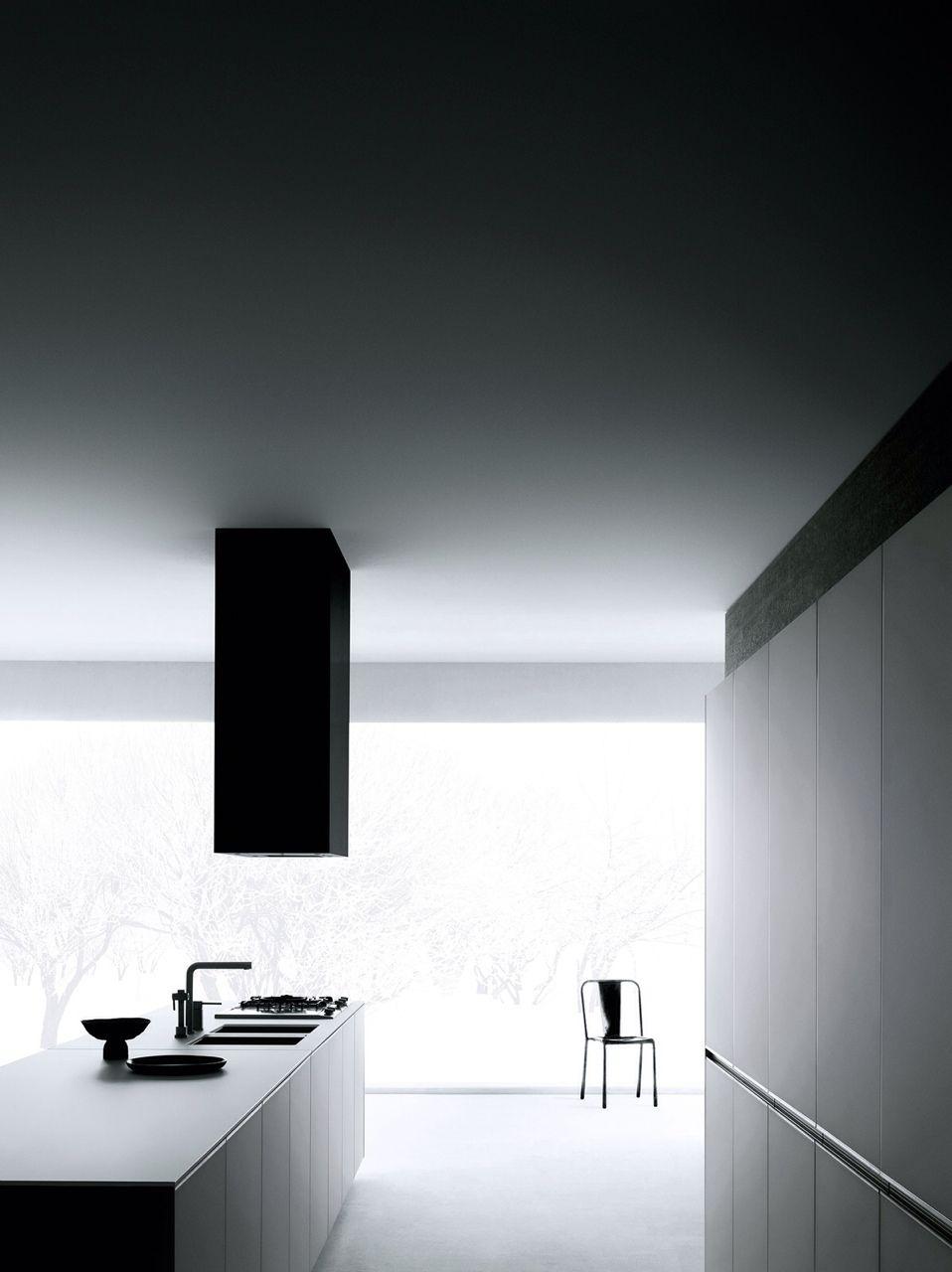High Quality Dark Ambience | Stylish Black Kitchen | Minimal Living Style | Modern  Minimalist Interiors | Contemporary Amazing Pictures