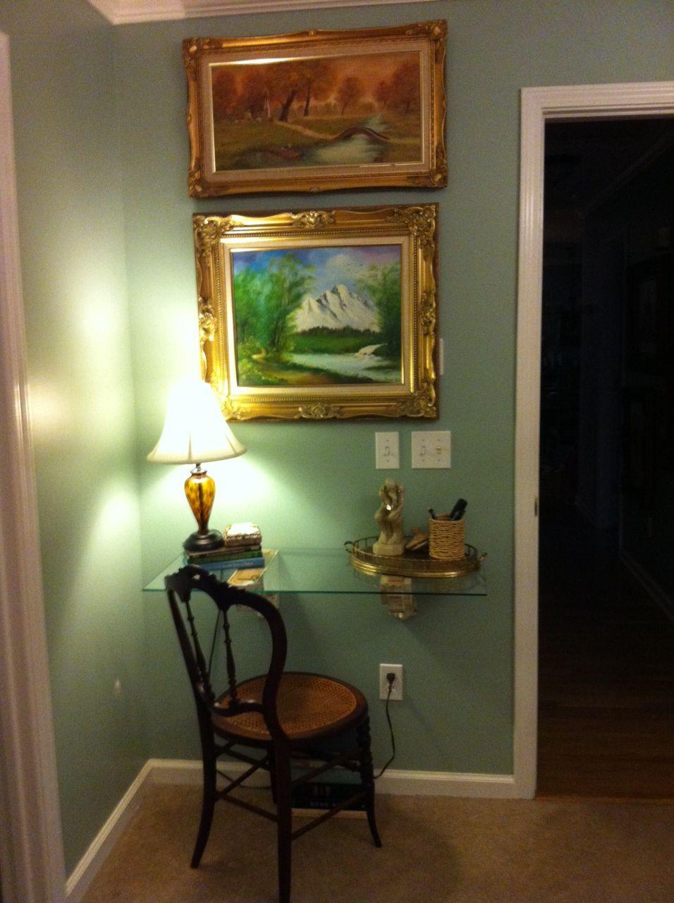 Writing Desk in Master Bedroom. Home decor, Decor, Furniture