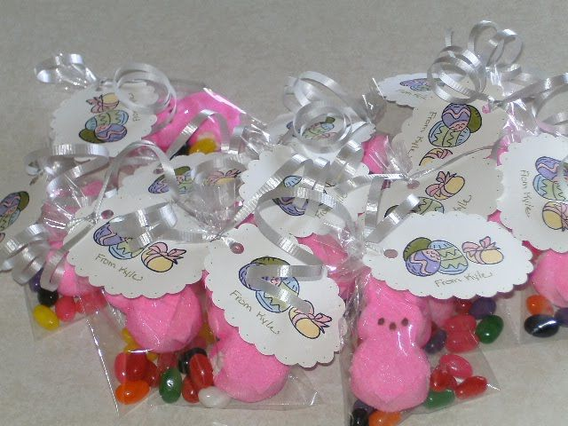Classmate goodie bag idea for easter little girl pinterest classmate goodie bag idea for easter negle Image collections