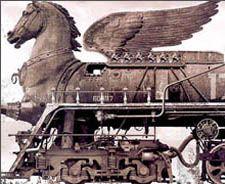 caballo metálico - a real iron horse?