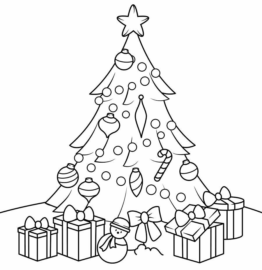 Moldes De Arvore De Natal Para Pintar E Colorir Paginas Para
