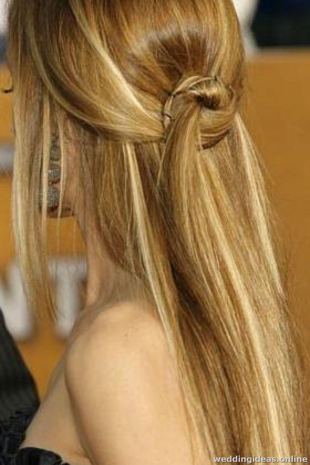 50 Schonsten Ideen Fur Brautfrisuren Frisuren Lange Gerade Haare Brautfrisuren Glatte Haare Brautfrisur