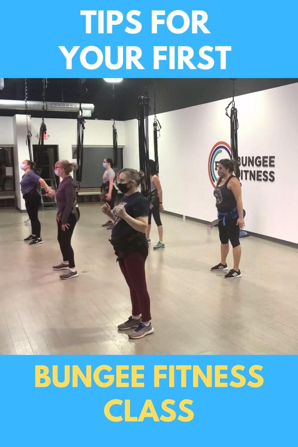 A Unique Way To Exercise At Fly Bungee Fitness Cincinnati Adventure Mom Video Video In 2021 Fitness Class Fun Workouts Bungee Workout