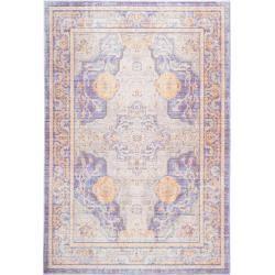 benuta Trends Carpet Visconti Multicolor / Blue 300x400 cm - Vintage Carpet in Used-Lookbenuta.de#300x400 #benuta #blue #carpet #multicolor #trends #usedlookbenutade #vintage #visconti
